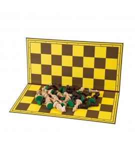 Schachbrett - Karton