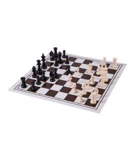 Chess Set No 6 - Plastic