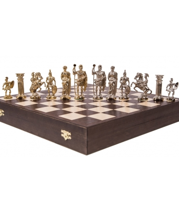 Chess Pieces Roman - Metal lux