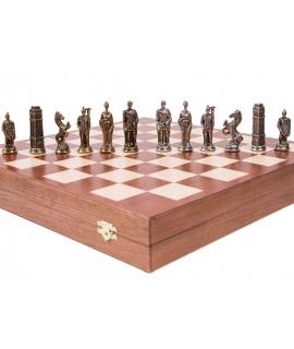 I pezzi degli scacchi - Inglese - Metal Lux