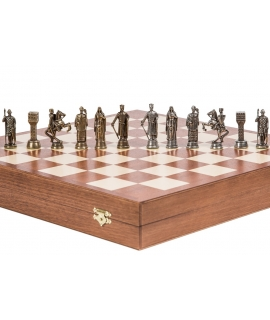 Chess Pieces King Arthur - Metal lux
