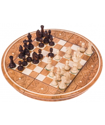 Chess Rubin - Red