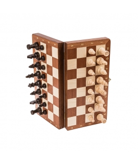 Chess Magnetic - Mahogany