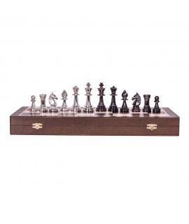 Chess Pieces - Staunton 6 - Gold Edition