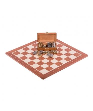 Profi Chess Set No 5 - Mahogany