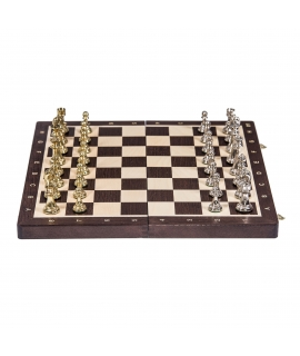 Chess Tournament No 4 - Wenge / Metal