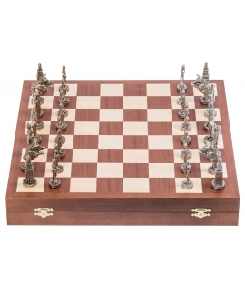 Chess King Arthur - Metal Lux