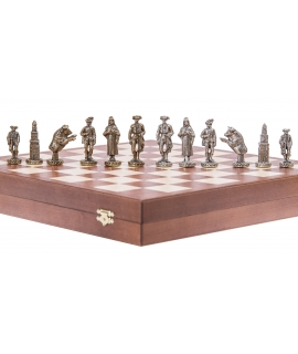 Chess Pieces - Matador - Metal lux
