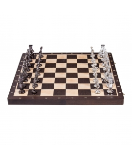 Schach Rom - Silver Edition