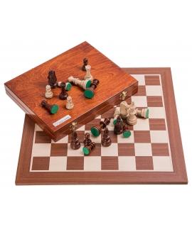 Profi Chess Set No 5 - Mahogany Lux