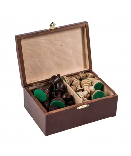 Chess Pieces Staunton 5 + Case