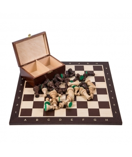 Profi Chess Set No 5 - Wenge