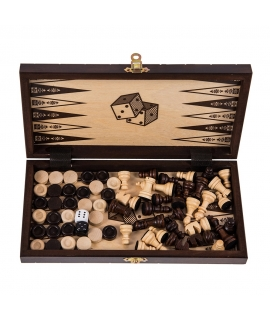 Lion Mini - Chess + Backgammon + Checkers