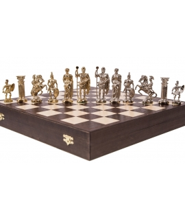 Chess Pieces Roman - Metal lux