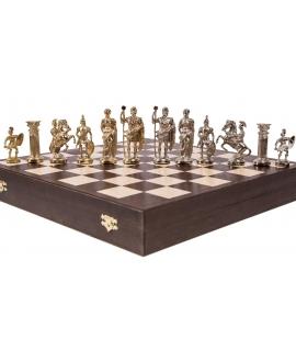 Piezas de ajedrez - Romano - Metal Lux