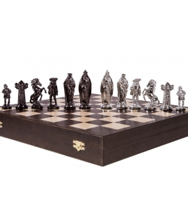Chess Pieces Medieval - Silver Edition