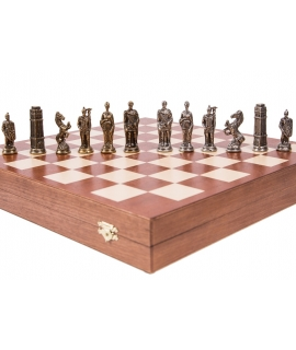Chess Pieces Germanic - Metal lux