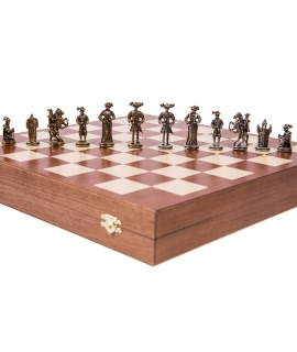Chess Pieces Swiss - Metal lux