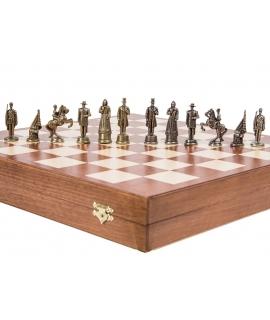 Piezas de ajedrez - América - Metal Lux