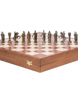 Piezas de ajedrez - Rey Arturo - Metal Lux