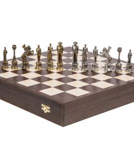 Piezas de ajedrez - Napoleón - Metal Lux