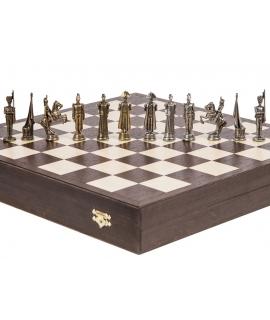 Piezas de ajedrez - Francés - Metal Lux
