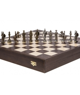 Piezas de ajedrez - Emiratos - Metal Lux