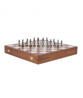 Piezas de ajedrez - Egipto - Metal Lux