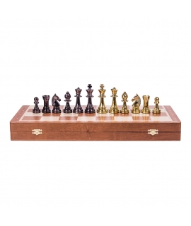Chess Pieces - Staunton 6 - Gold Edition