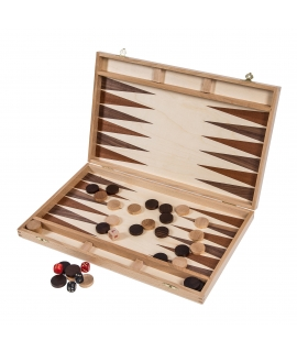 Backgammon 40 - Beech