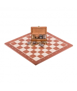 Profi Chess Set No 5 - Mahogany