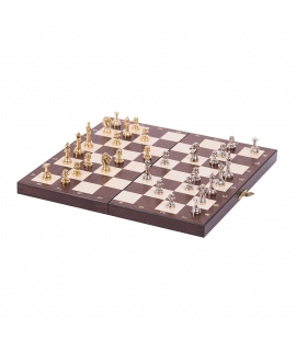 Chess American - Metal Lux