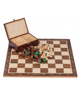 Profi Chess Set No 6 - Mahogany