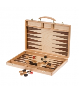 Backgammon 38 Exclusive - Mahogany