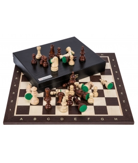 Profi Chess Set No 5 - Wenge Lux