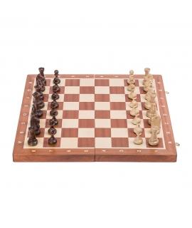 Schach Turnier Nr. 5 - Mahagoni WW