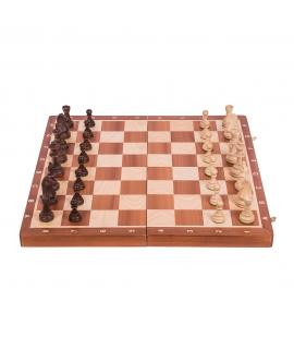 Chess Tournament No 6 - Mahogany WW