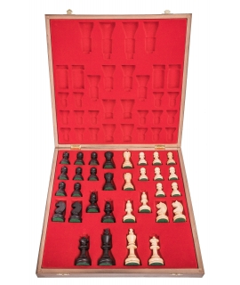 Chess Pieces Staunton 6 + Case Lux