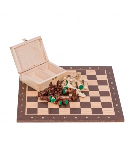 Profi Chess Set No 4 - Mahogany