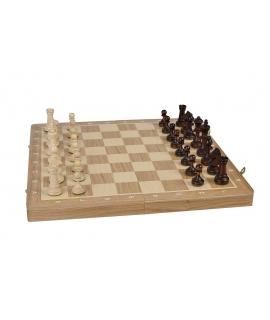 Schach Turnier Nr. 3 - Mahagoni