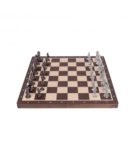 Chess Medieval - Silver Edition
