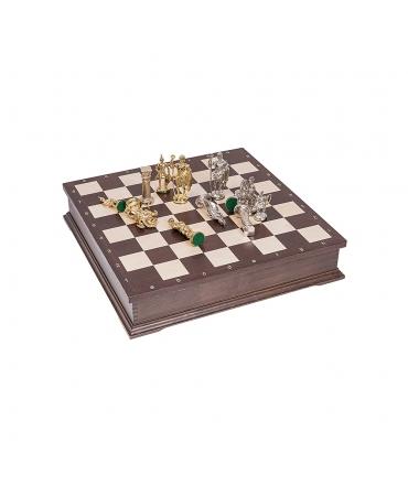 Chess Roman - Metal Lux